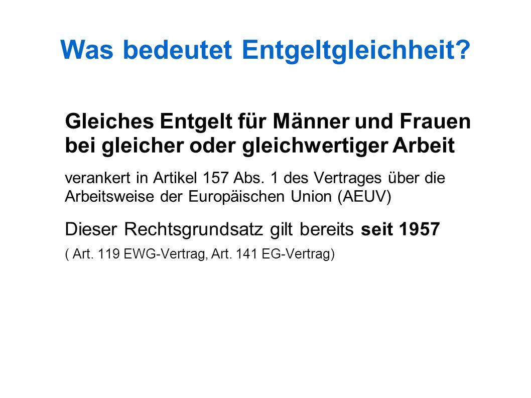 Mittelbare Diskriminierung nach AGG § 3 Abs.