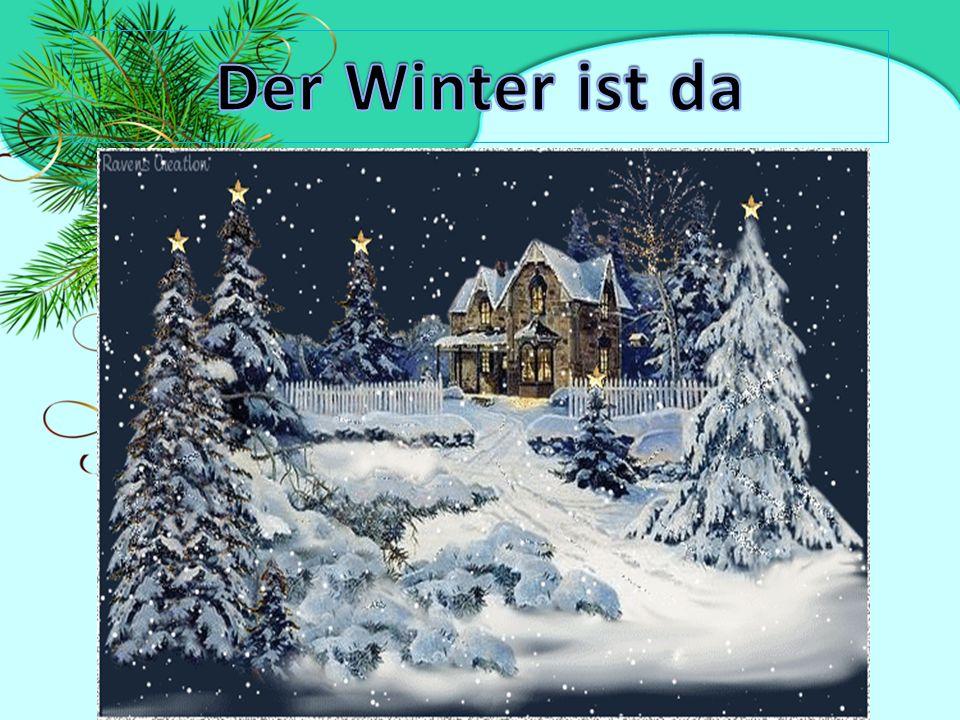 Wie ist das Wetter im Winter.Wo liegt der Schnee.