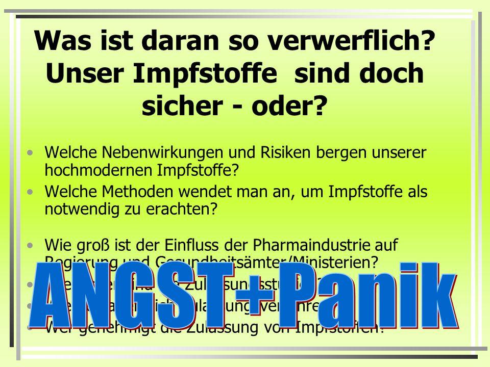 Impfstoffe lassen Sanofi-Pasteurs Reingewinne sprudeln Mit einem Wachstum von 56 % auf knapp 1 Milliarde Euro Reingewinn wies Sanofi-Aventis mit den I