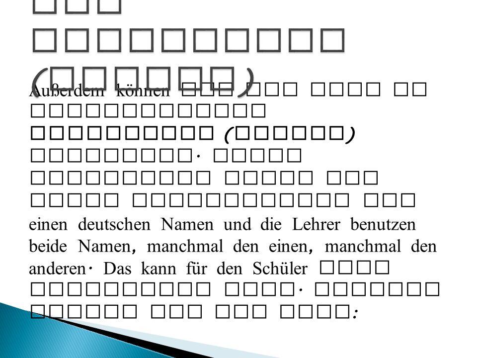 Außerdem können wir das Verb in verschiedenen Zeitformen ( Tempus ) verwenden. Diese Zeitformen haben oft einen lateinischen und einen deutschen Namen