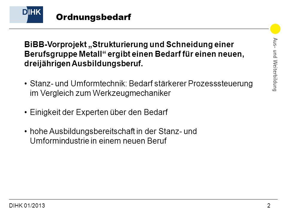 DIHK 01/2013 13 Kontakt Ihre Ansprechpartner: Anja Schwarz DIHK e.