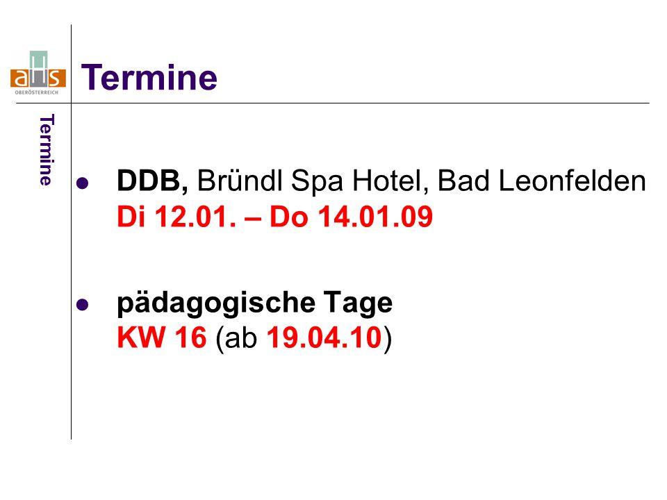 DDB, Bründl Spa Hotel, Bad Leonfelden Di 12.01.