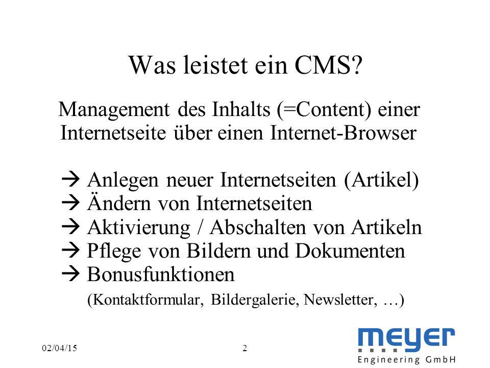 02/04/152 Was leistet ein CMS.