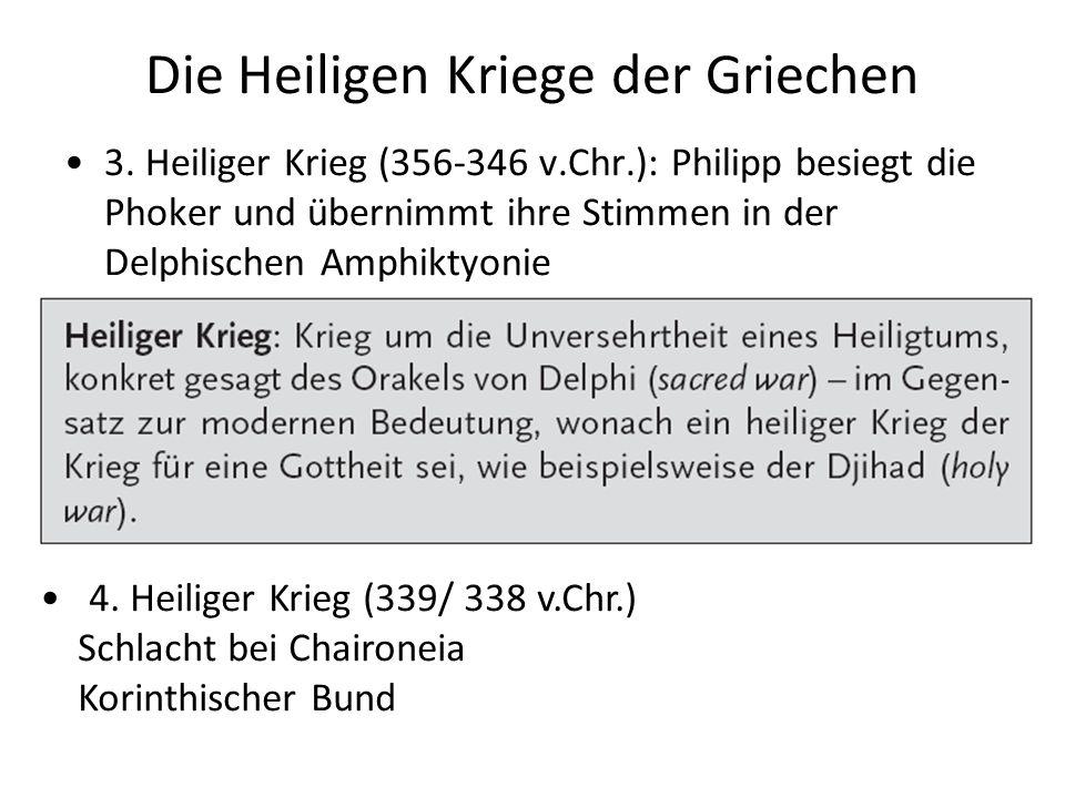 Die Heiligen Kriege der Griechen 3.