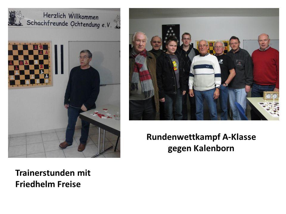 Sportliche Aktivitäten der Erwachsenen:  5. Senioren Schnellschach-Einzelmeisterschaften in Güls  Rheinland-Meisterschaften 2012 in Nickenich in den