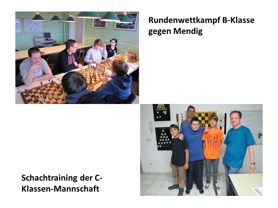 Trainerstunden mit Friedhelm Freise Rundenwettkampf A-Klasse gegen Kalenborn
