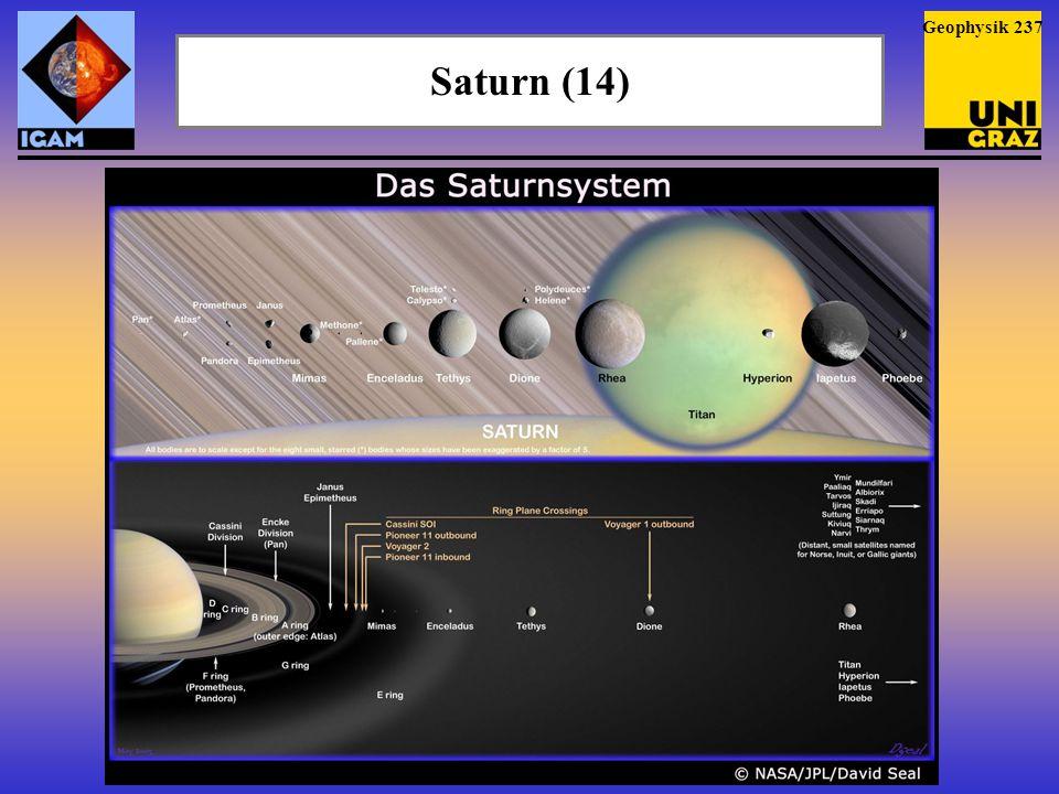 Saturn (14) Geophysik 237