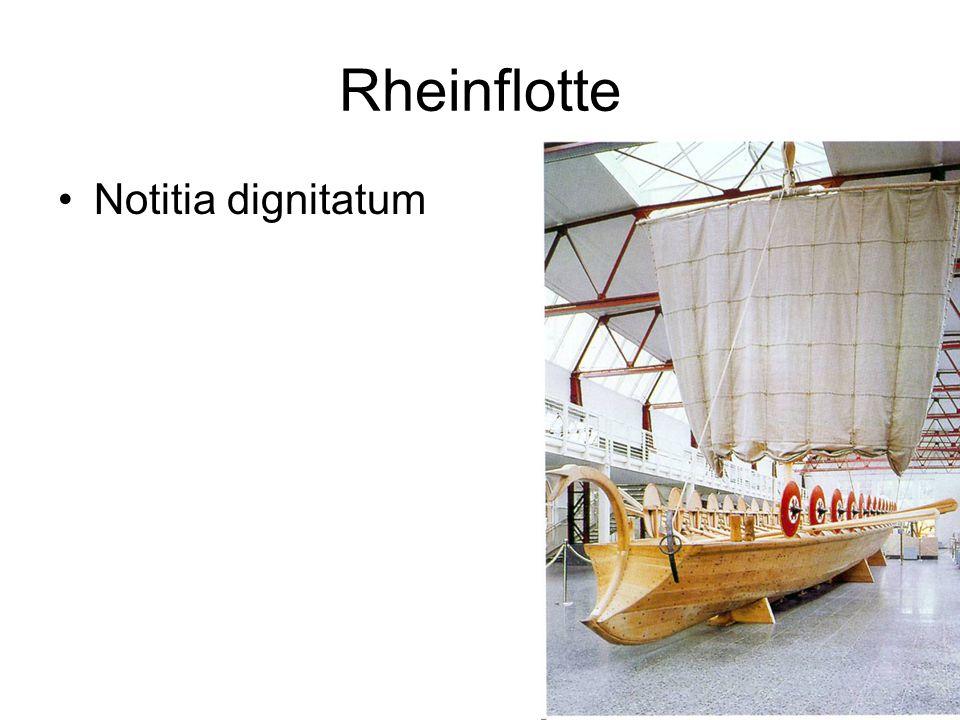 Rheinflotte Notitia dignitatum