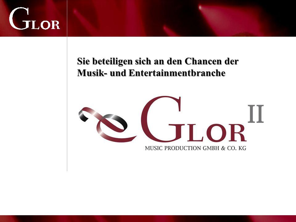 Sie beteiligen sich an den Chancen der Musik- und Entertainmentbranche