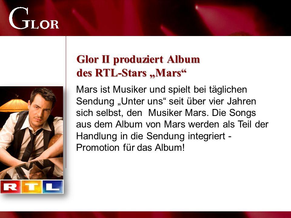"""Mars ist Musiker und spielt bei täglichen Sendung """"Unter uns"""" seit über vier Jahren sich selbst, den Musiker Mars. Die Songs aus dem Album von Mars we"""