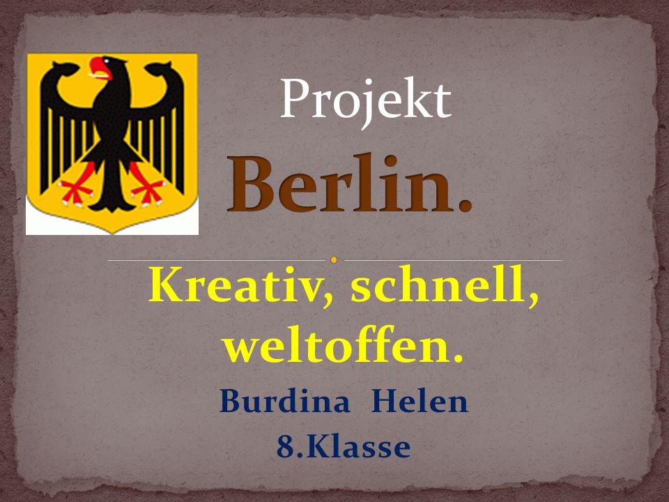 Die Stadt Berlin hat eine sehr alte Geschichte.Das erste Mal wurde Berlin 1244 erwahnt.