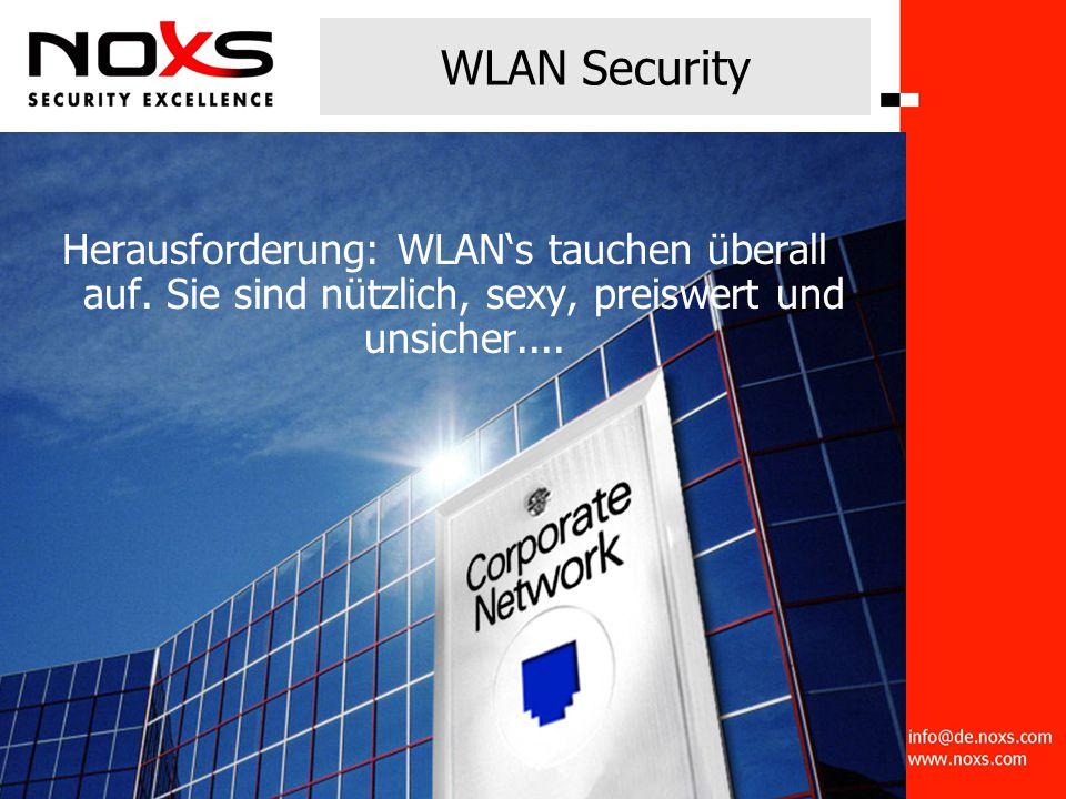 WLAN Security Herausforderung: WLAN's tauchen überall auf.