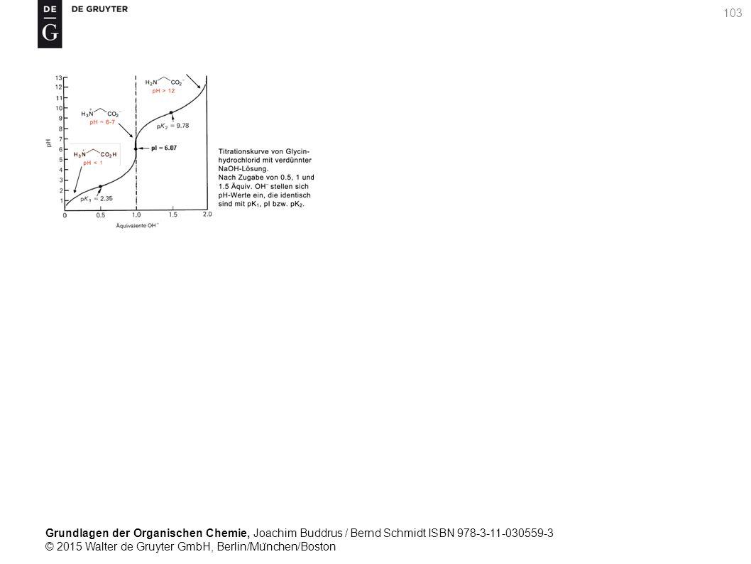 Grundlagen der Organischen Chemie, Joachim Buddrus / Bernd Schmidt ISBN 978-3-11-030559-3 © 2015 Walter de Gruyter GmbH, Berlin/Mu ̈ nchen/Boston 103