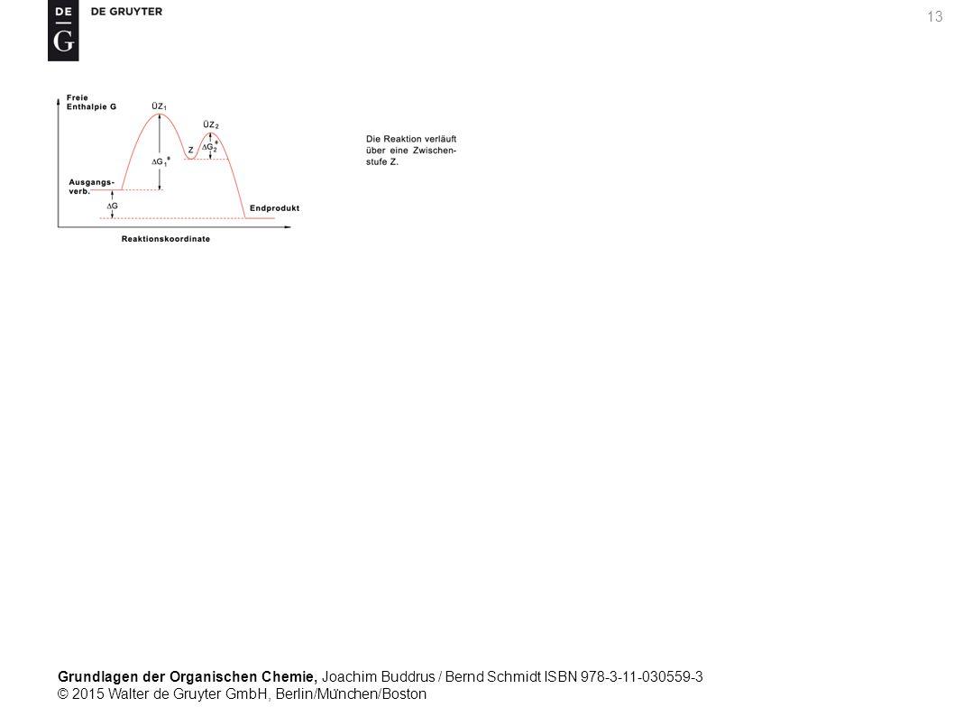 Grundlagen der Organischen Chemie, Joachim Buddrus / Bernd Schmidt ISBN 978-3-11-030559-3 © 2015 Walter de Gruyter GmbH, Berlin/Mu ̈ nchen/Boston 13