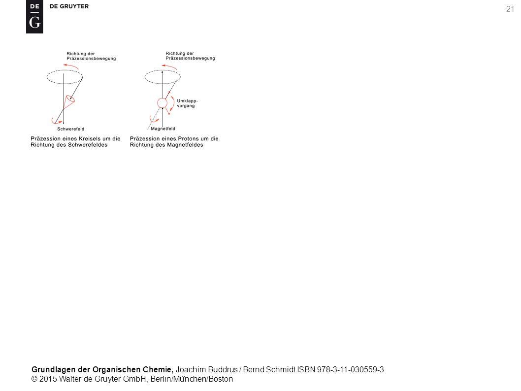 Grundlagen der Organischen Chemie, Joachim Buddrus / Bernd Schmidt ISBN 978-3-11-030559-3 © 2015 Walter de Gruyter GmbH, Berlin/Mu ̈ nchen/Boston 21