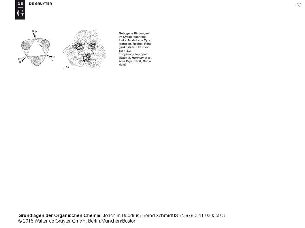 Grundlagen der Organischen Chemie, Joachim Buddrus / Bernd Schmidt ISBN 978-3-11-030559-3 © 2015 Walter de Gruyter GmbH, Berlin/Mu ̈ nchen/Boston 53