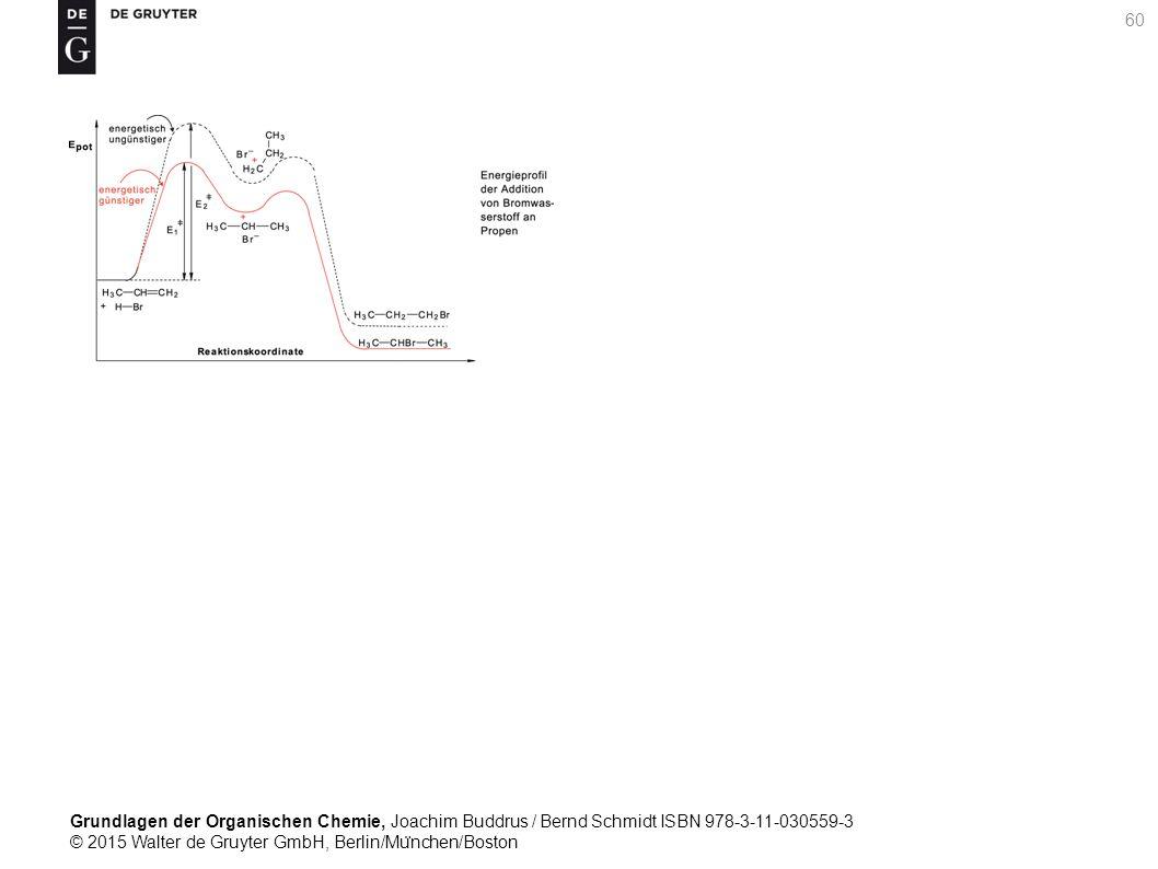 Grundlagen der Organischen Chemie, Joachim Buddrus / Bernd Schmidt ISBN 978-3-11-030559-3 © 2015 Walter de Gruyter GmbH, Berlin/Mu ̈ nchen/Boston 60