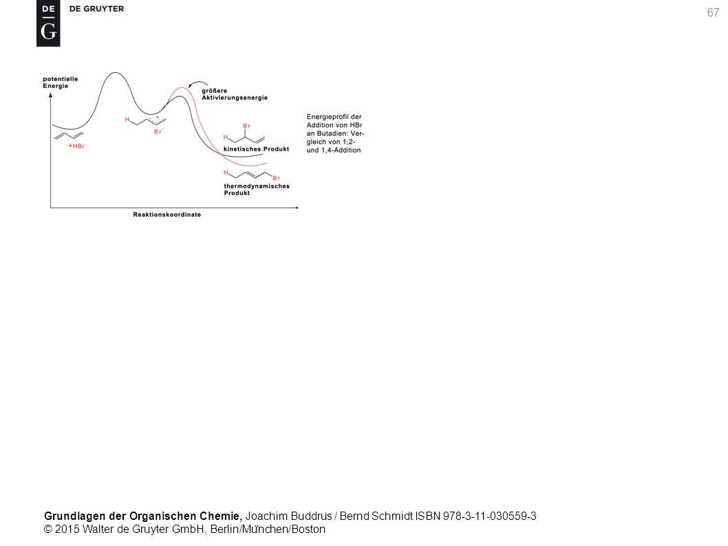Grundlagen der Organischen Chemie, Joachim Buddrus / Bernd Schmidt ISBN 978-3-11-030559-3 © 2015 Walter de Gruyter GmbH, Berlin/Mu ̈ nchen/Boston 67
