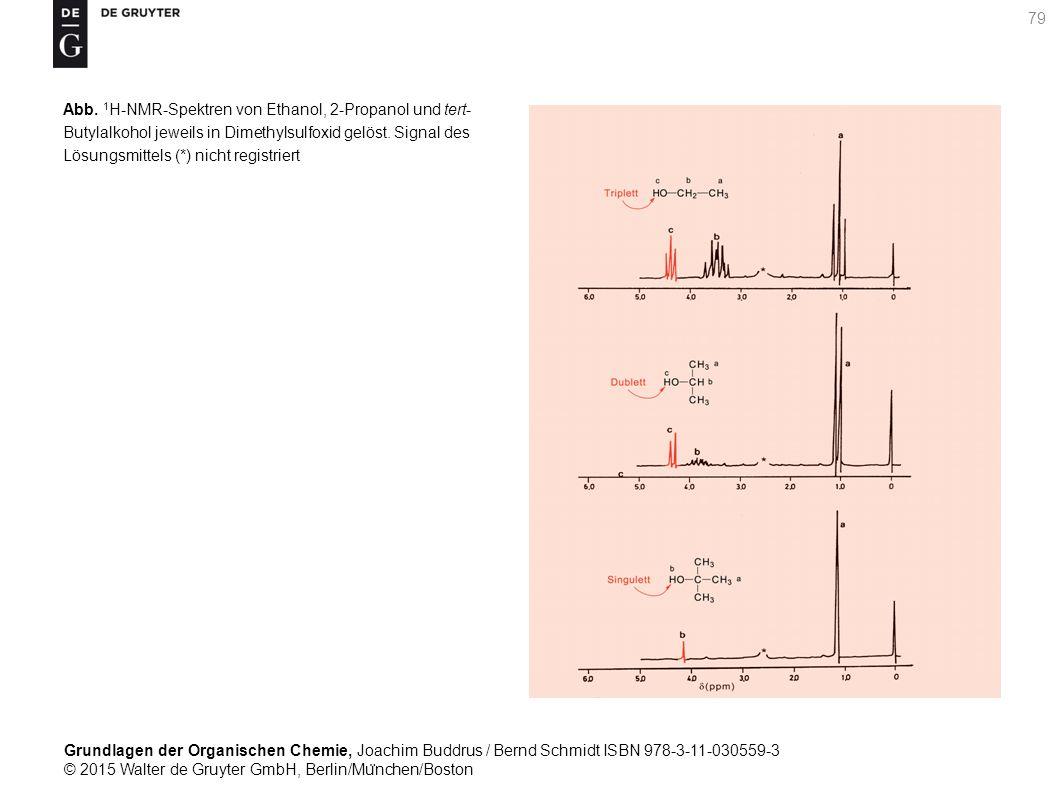 Grundlagen der Organischen Chemie, Joachim Buddrus / Bernd Schmidt ISBN 978-3-11-030559-3 © 2015 Walter de Gruyter GmbH, Berlin/Mu ̈ nchen/Boston 79 Abb.