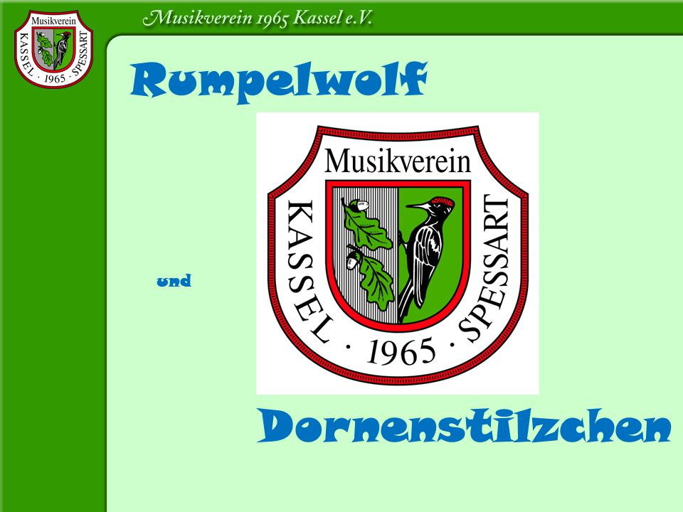 Rumpelwolf Dornenstilzchen und