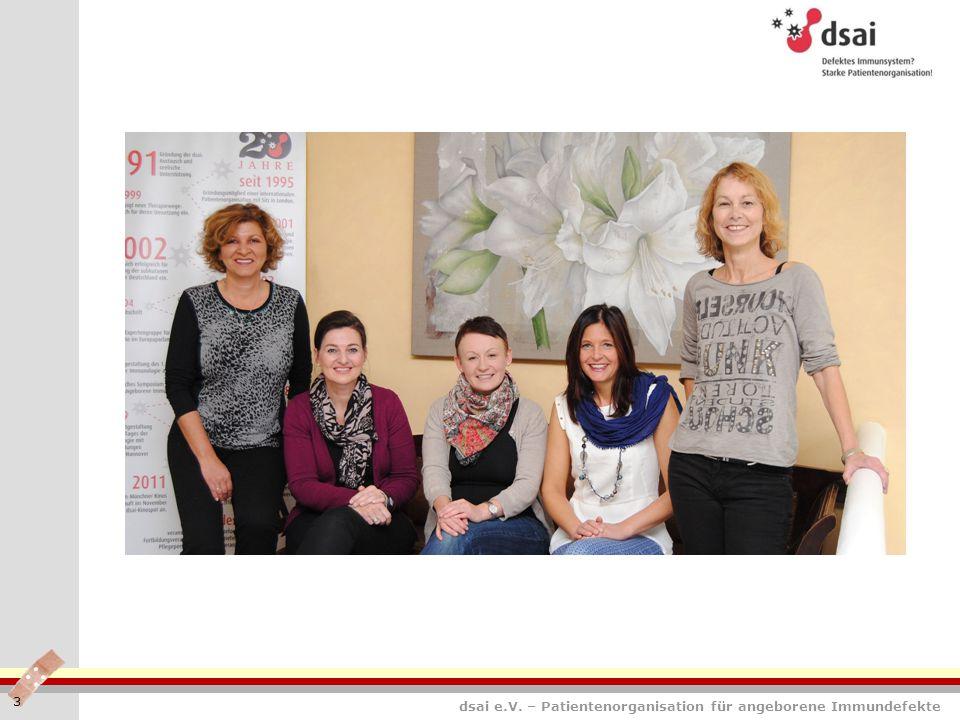 dsai e.V. – Patientenorganisation für angeborene Immundefekte 3