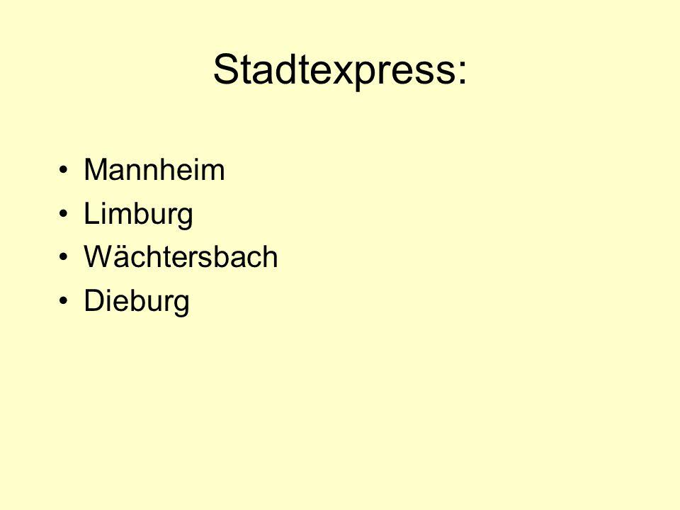 Finden Sie heraus a.Wann fährt ein Zug nach Berlin ab.