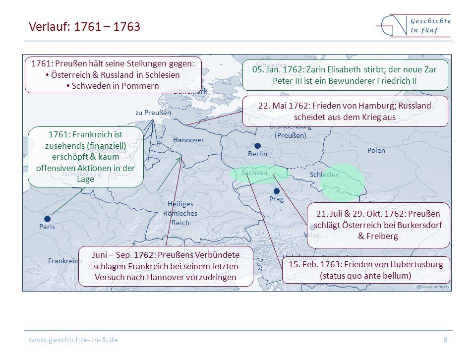 www.geschichte-in-5.de Wien Paris Dänemark Frankreich zu Habsburg Schweden Niederlande Preußen Brandenburg (Preußen) Habsburger Territorien Hannover S