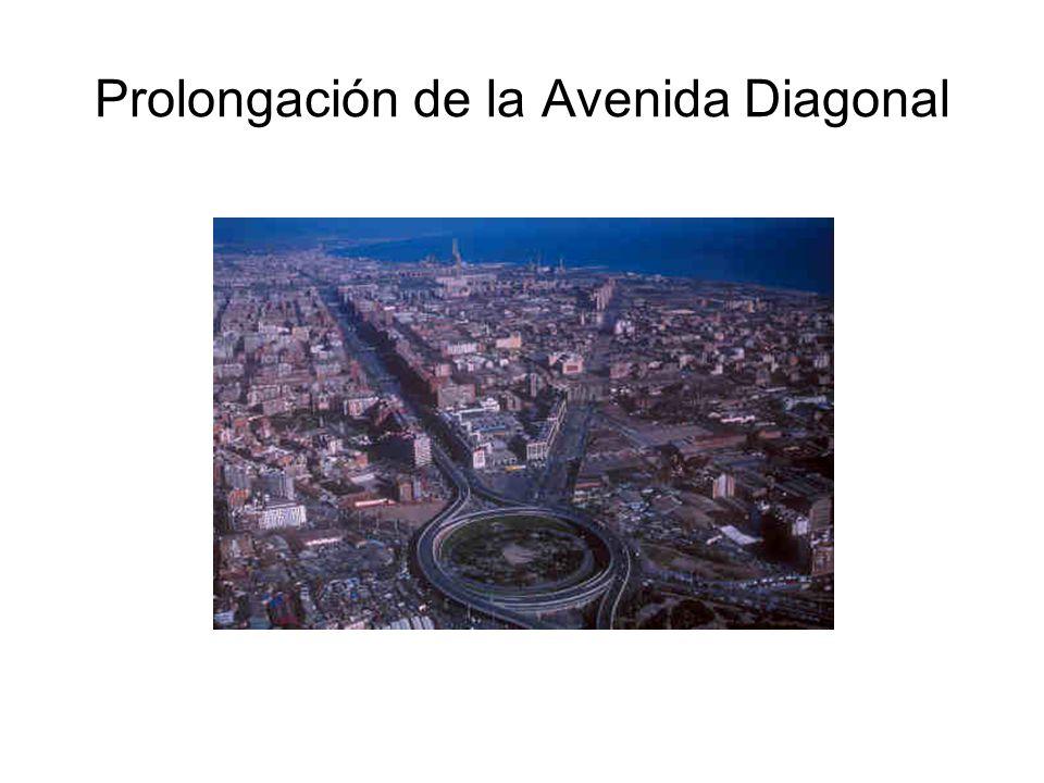 Prolongación de la Avenida Diagonal