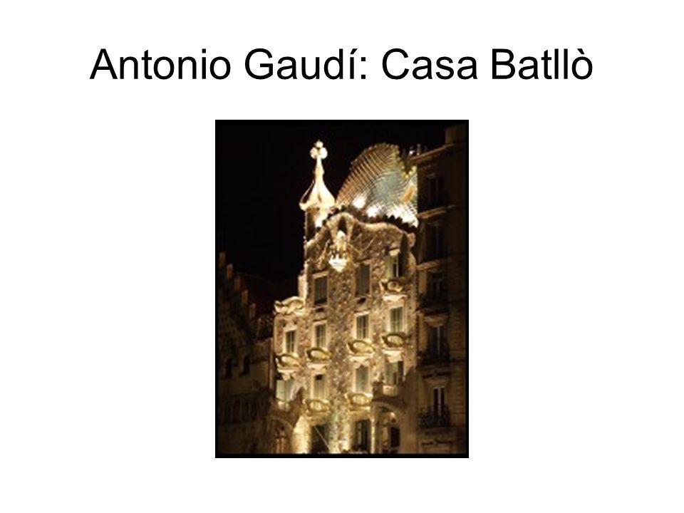 Antonio Gaudí: Casa Batllò