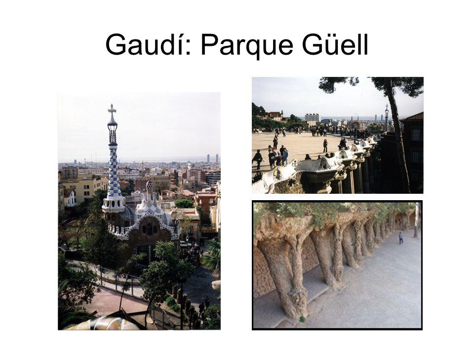 Gaudí: Parque Güell
