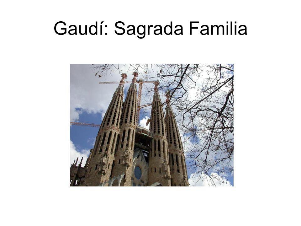 Gaudí: Sagrada Familia