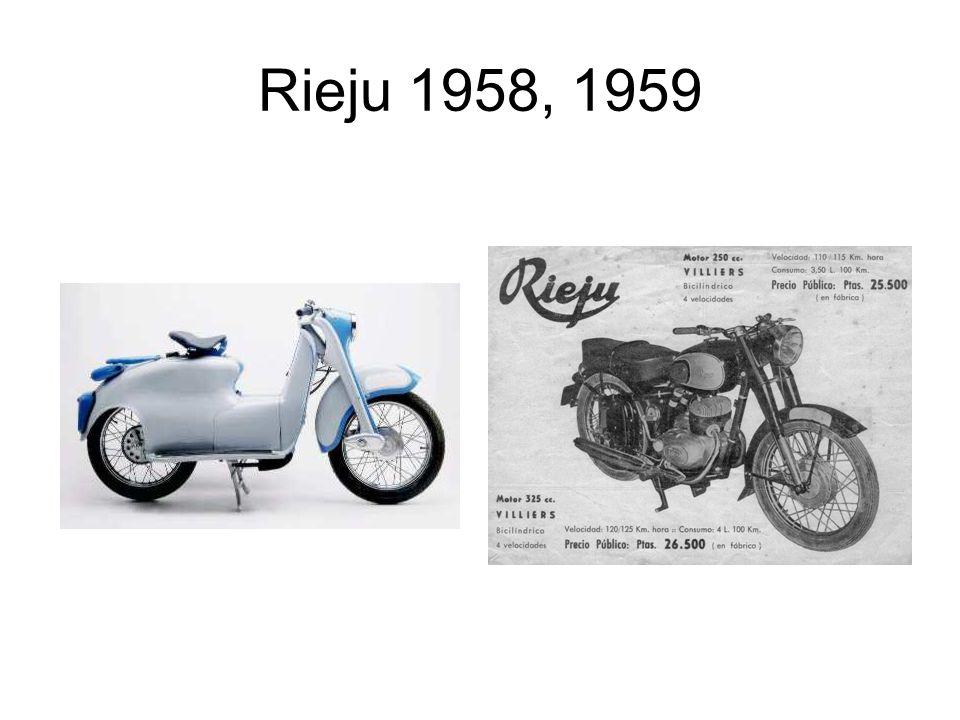 Rieju 1958, 1959