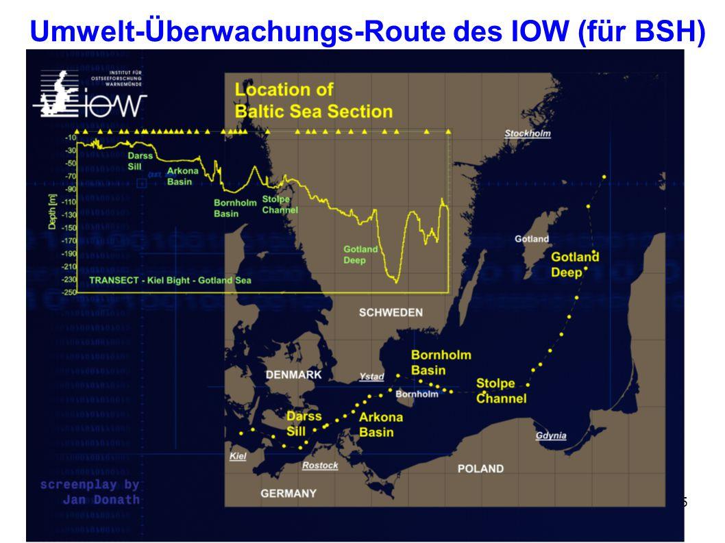 5 Umwelt-Überwachungs-Route des IOW (für BSH)