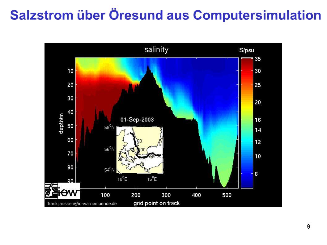 9 Salzstrom über Öresund aus Computersimulation