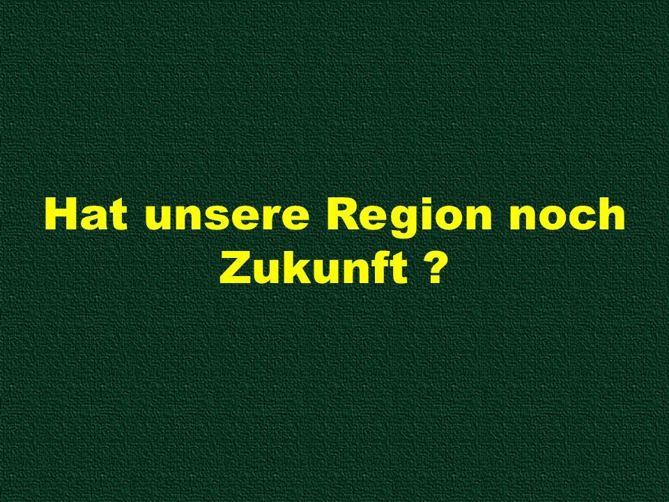 Hat unsere Region noch Zukunft ?