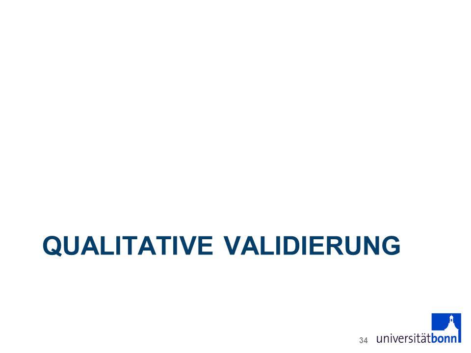 QUALITATIVE VALIDIERUNG 34