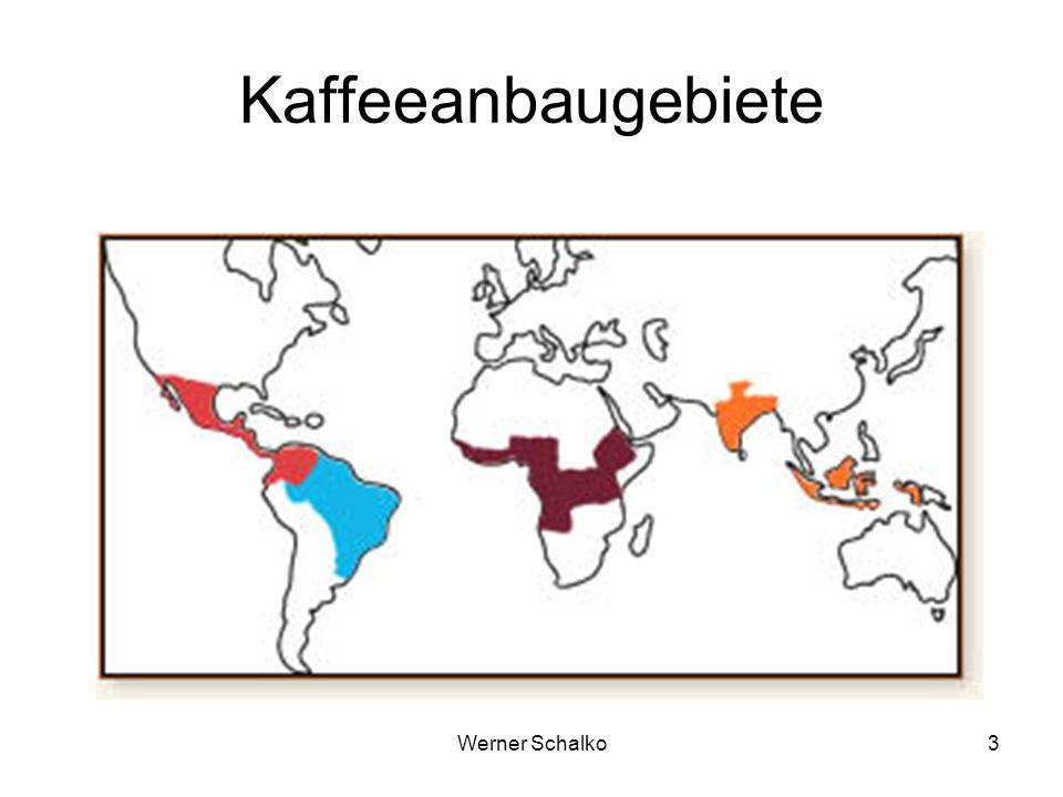 Werner Schalko3 Kaffeeanbaugebiete