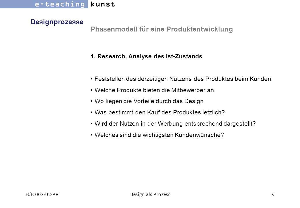 B/E 003/02/PPDesign als Prozess10 2.