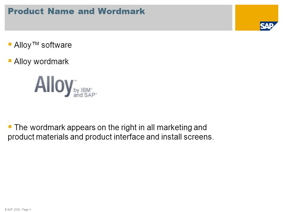 Alloy Naming Usage SPELLING  Alloy should always be written with a capital A and lowercase lloy in all writing scenarios.