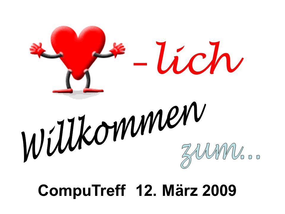 lich CompuTreff 12. März 2009
