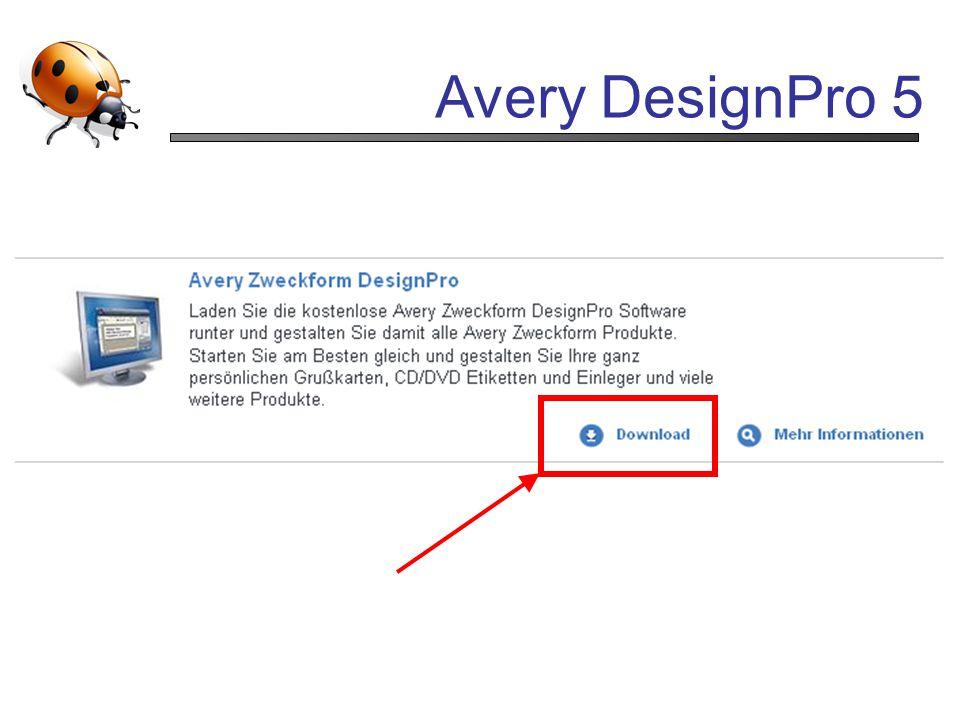 Avery DesignPro 5