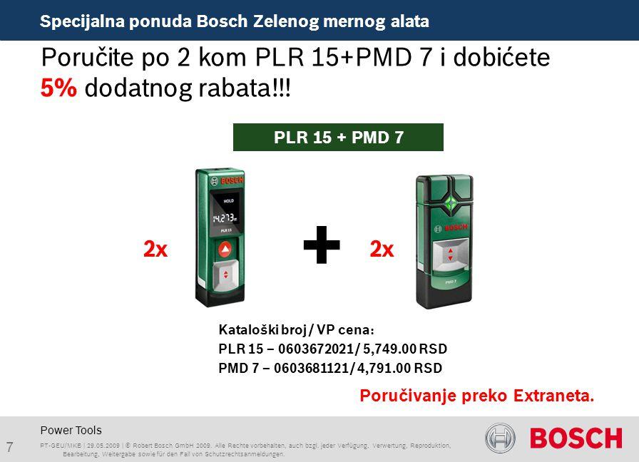 Power Tools Poručite po 2 kom PLR 15+PMD 7 i dobićete 5% dodatnog rabata!!.