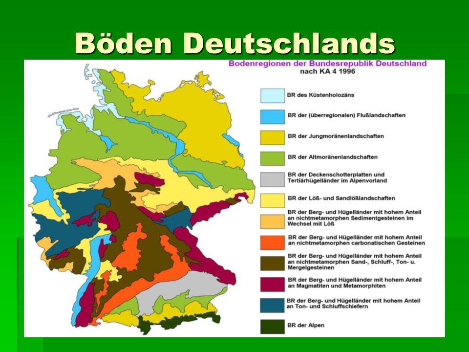 Böden Deutschlands
