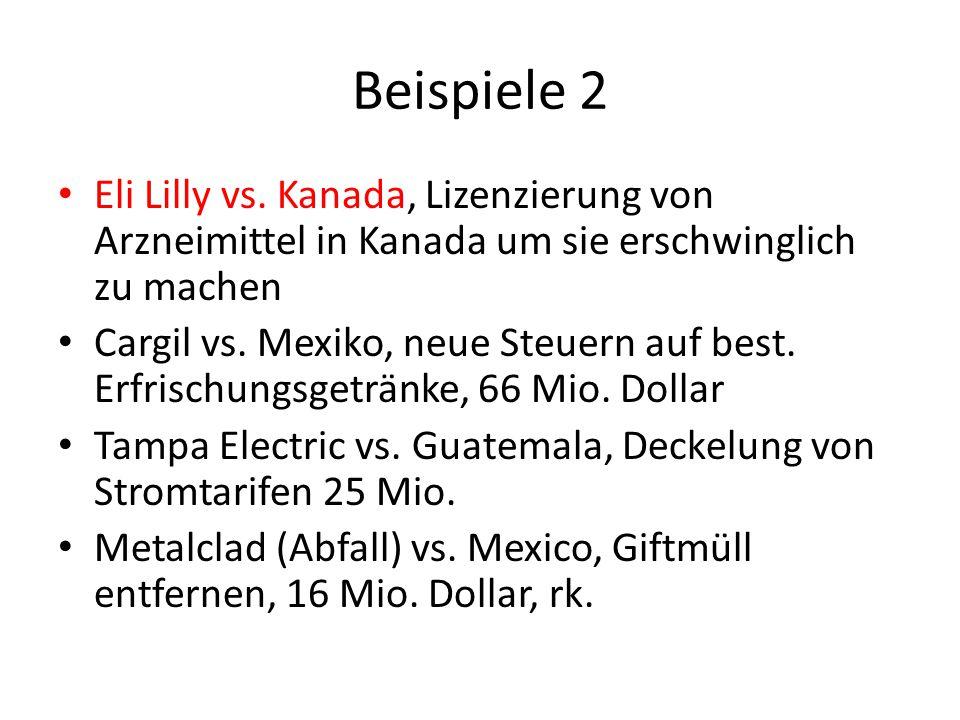 Beispiele 2 Eli Lilly vs.