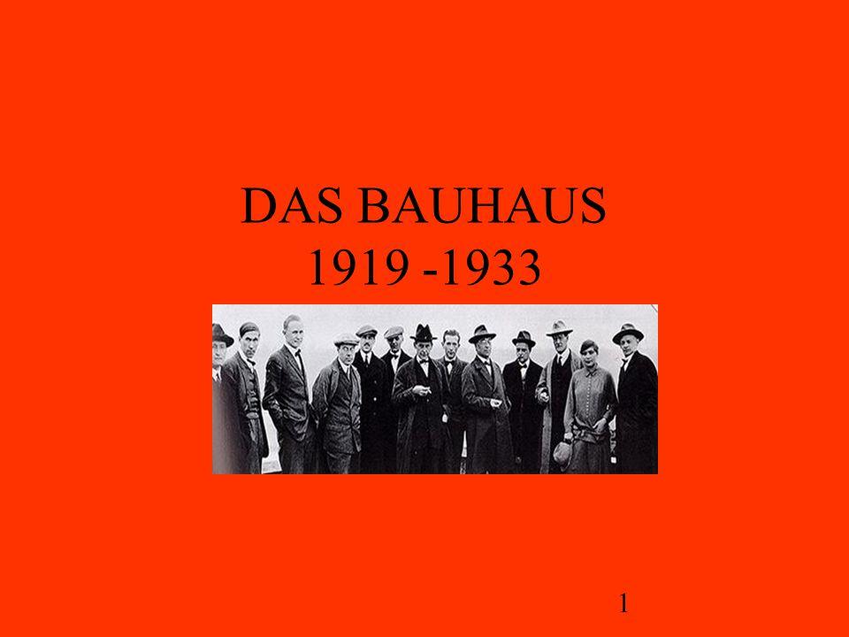 2 Das Bauhaus
