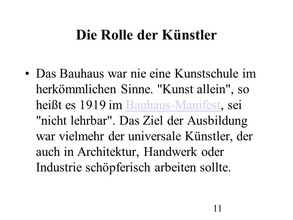 12 DIE KÜNSTE AM BAUHAUS || Die ersten ans Bauhaus berufenen Meister waren bildende Künstler.
