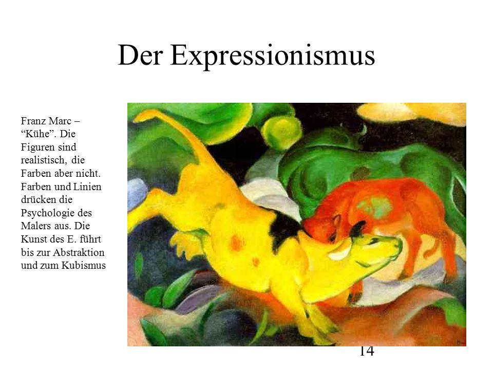 15 Wassilj Kandinsky Er gab am Bauhaus einen Kurs.