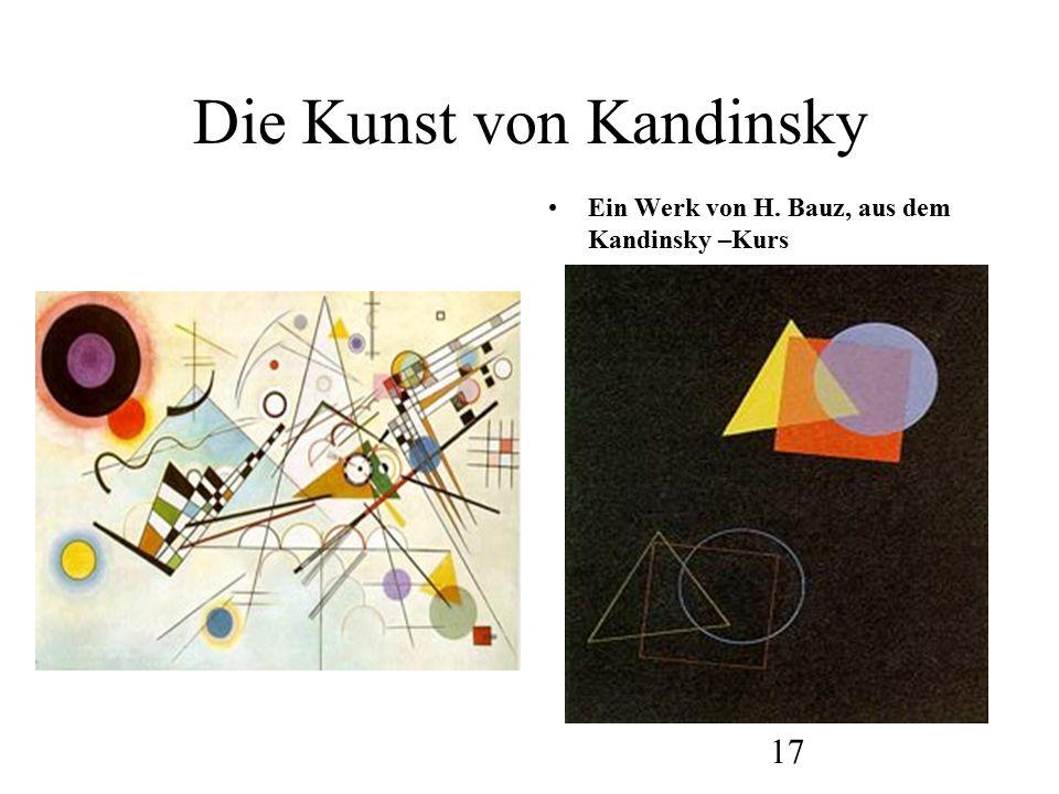 18 Die Kunst von Kandinsky