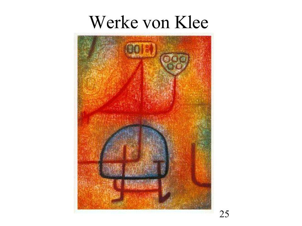 26 Werke von Klee