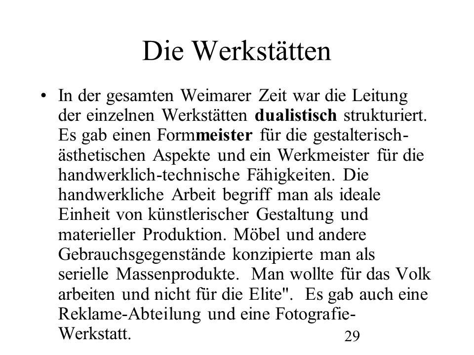 30 Die Fotografie am Bauhaus